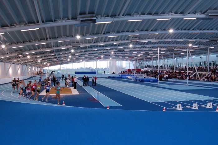 Emergency Lighting Lea Valley Athletics Centre case study