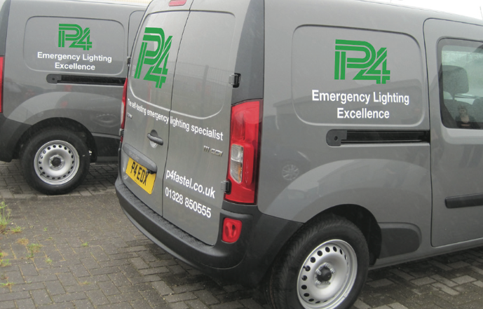 P4 Emergency Lighting Vans