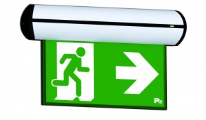 P4 Fastel Emergency Exit Sign Pi Wall mounted