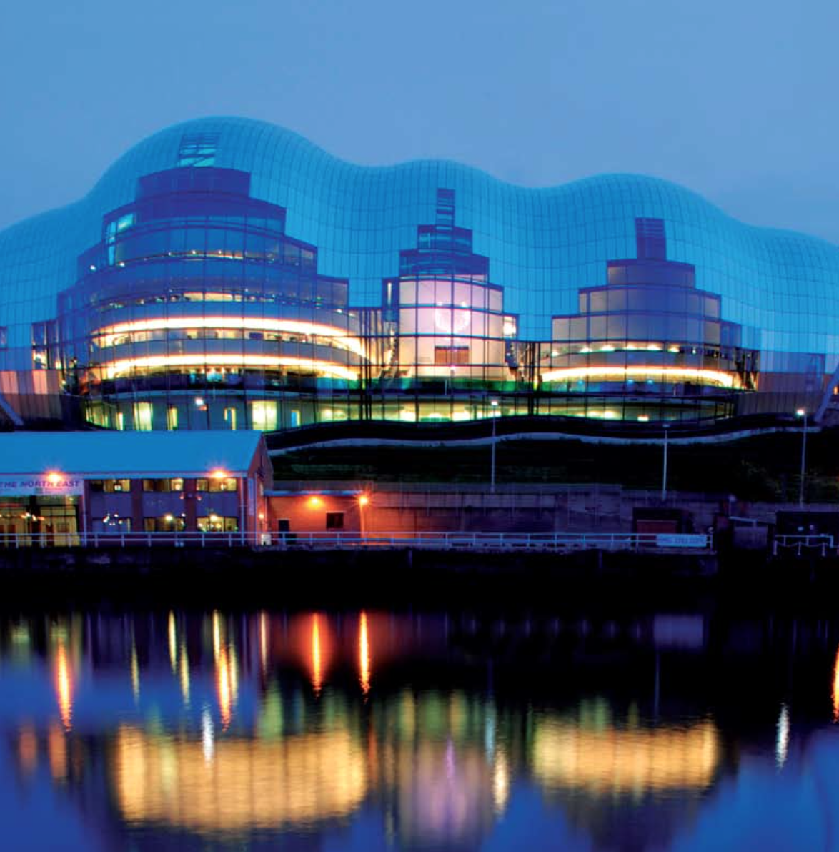 Emergency Lighting Sage Gateshead case study