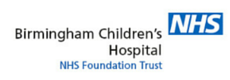 Birmingham Childrens Hospital NHS Logo