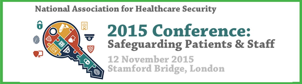National Association for Healthcare Security 2015 Conference banner