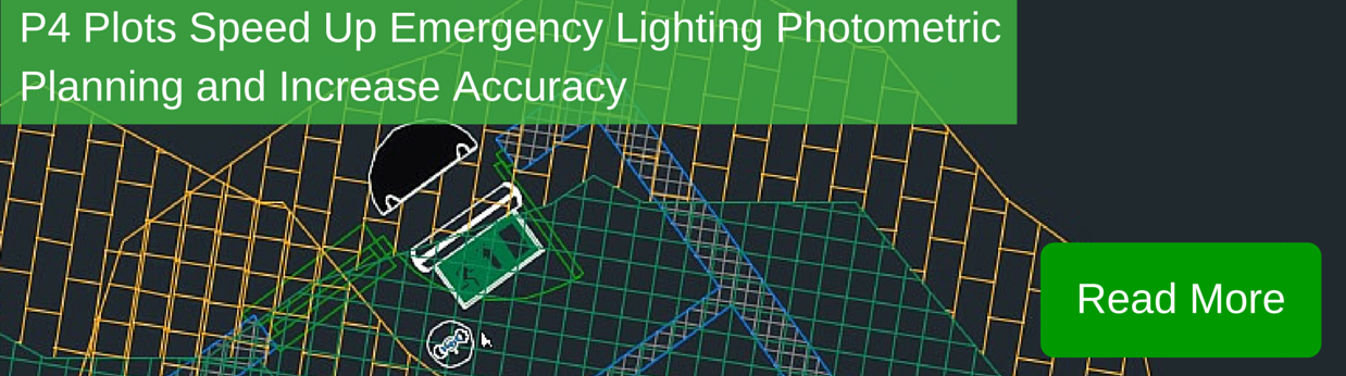 P4 Plots speed up Emergency Lighting Phometric banner
