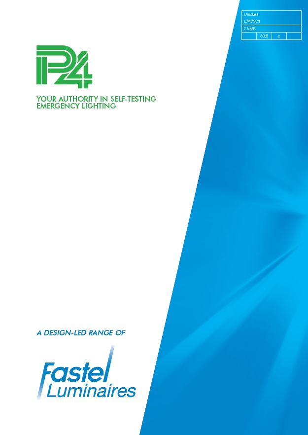 P4 Luminaires Brochure Front Page HR