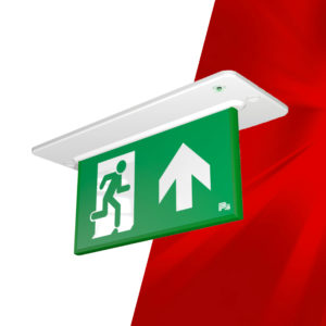 Lambda Emergency Exit Sign
