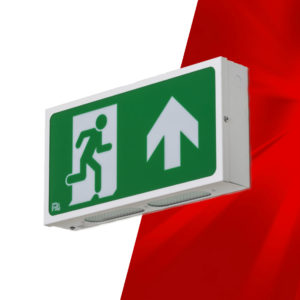 P4 Beta Emergency Exit Sign
