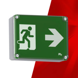 P4 Beta IP65 Emergency Exit Sign