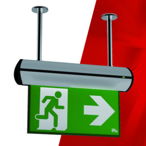 P4 Ceiling Emergency Exit Sign