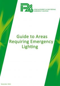 Guide to Areas Requiring Emergency Lighting cover