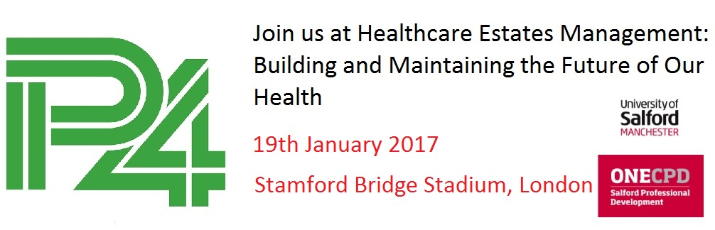 P4 healthcare estates conference banner 2017 v2