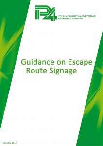 Guidance on Escape Route Signage cover