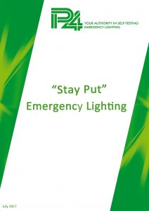 P4 Stay Put Emergency Lighting Cover
