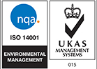 Enviromental Management Accreditation ISO14001-UKAS